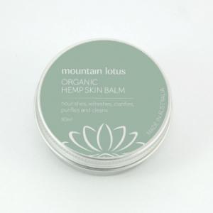 Organic Hemp Skin Balm & Organic Herbal Skin Balm